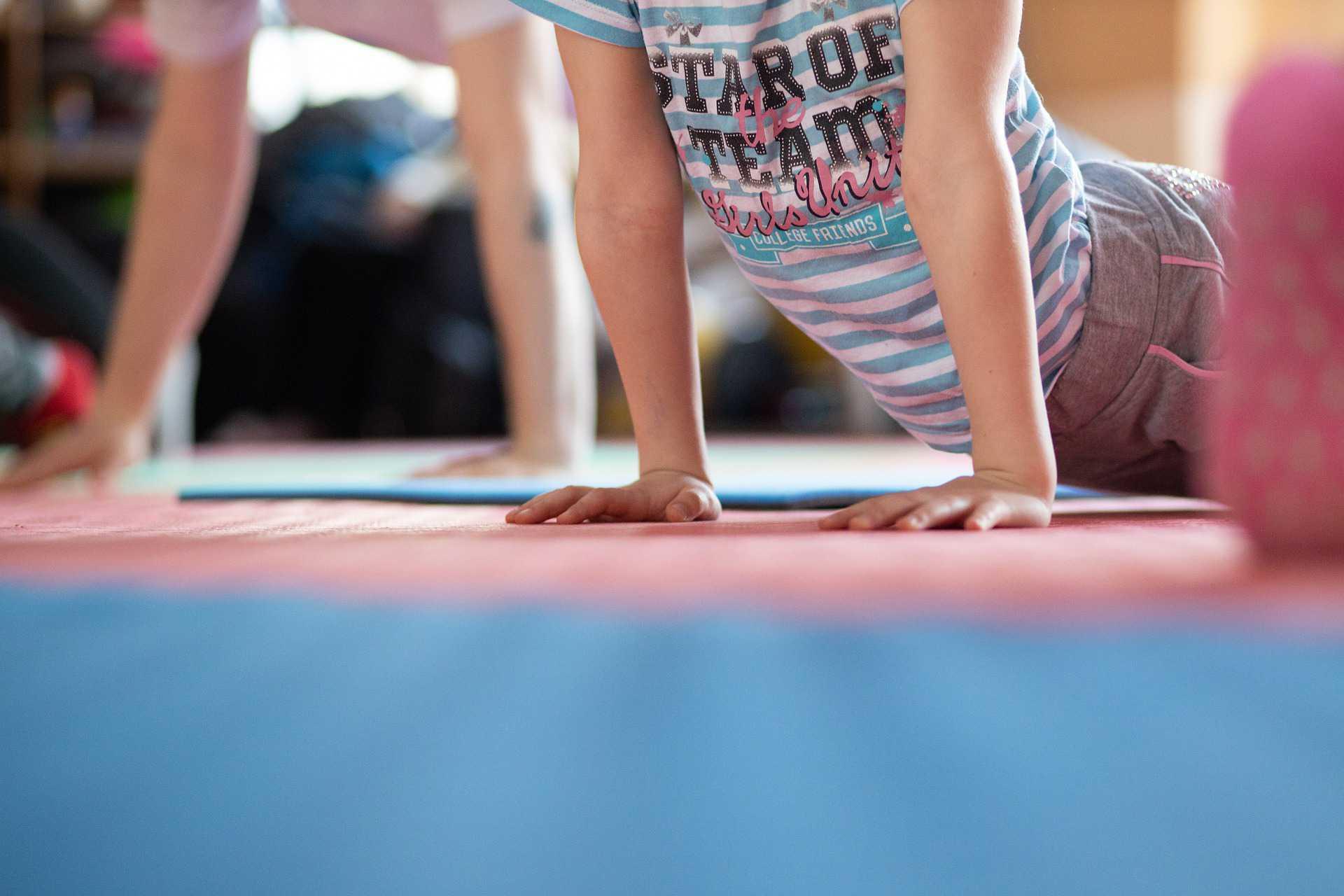 Kid Doing Yoga | Kids Car Donations