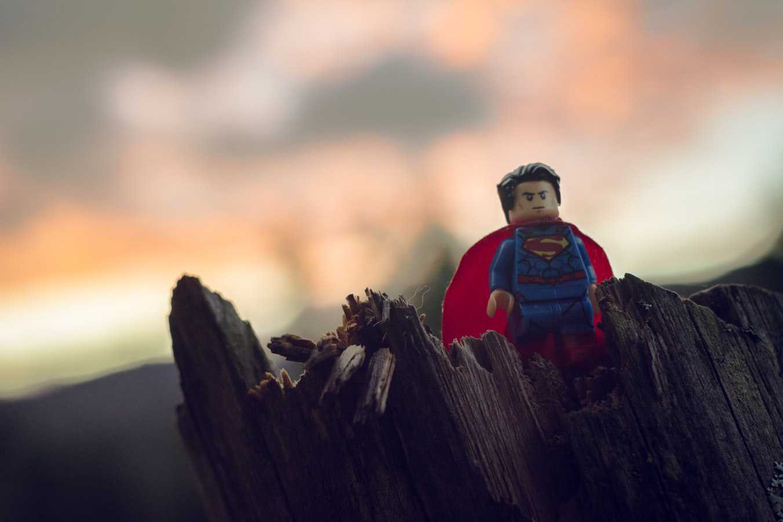 Superman Lego Figure | Kids Car Donations