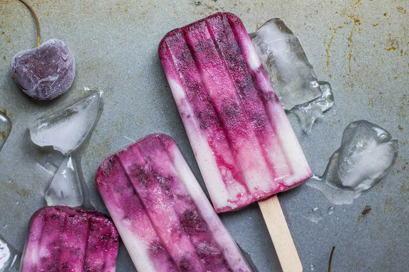 Cherry Vanilla Popsicles | Kids Car Donations