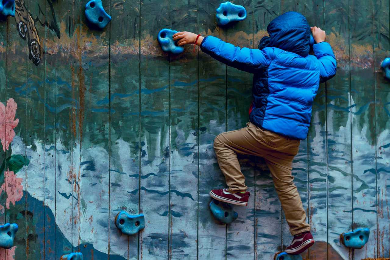 Kid Wall Climbing | Kids Car Donations