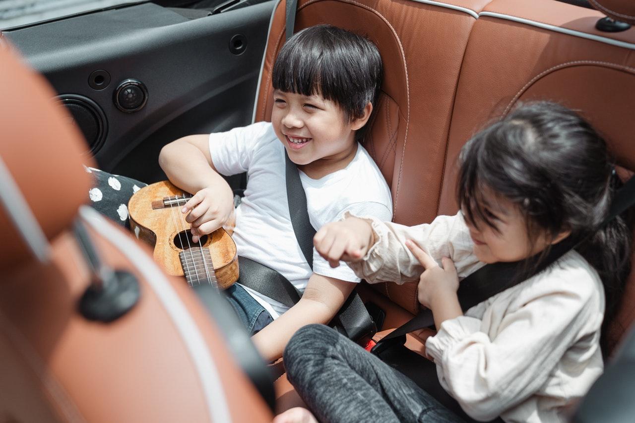 Kids Enjoying the Long Drive | Kids Car Donations