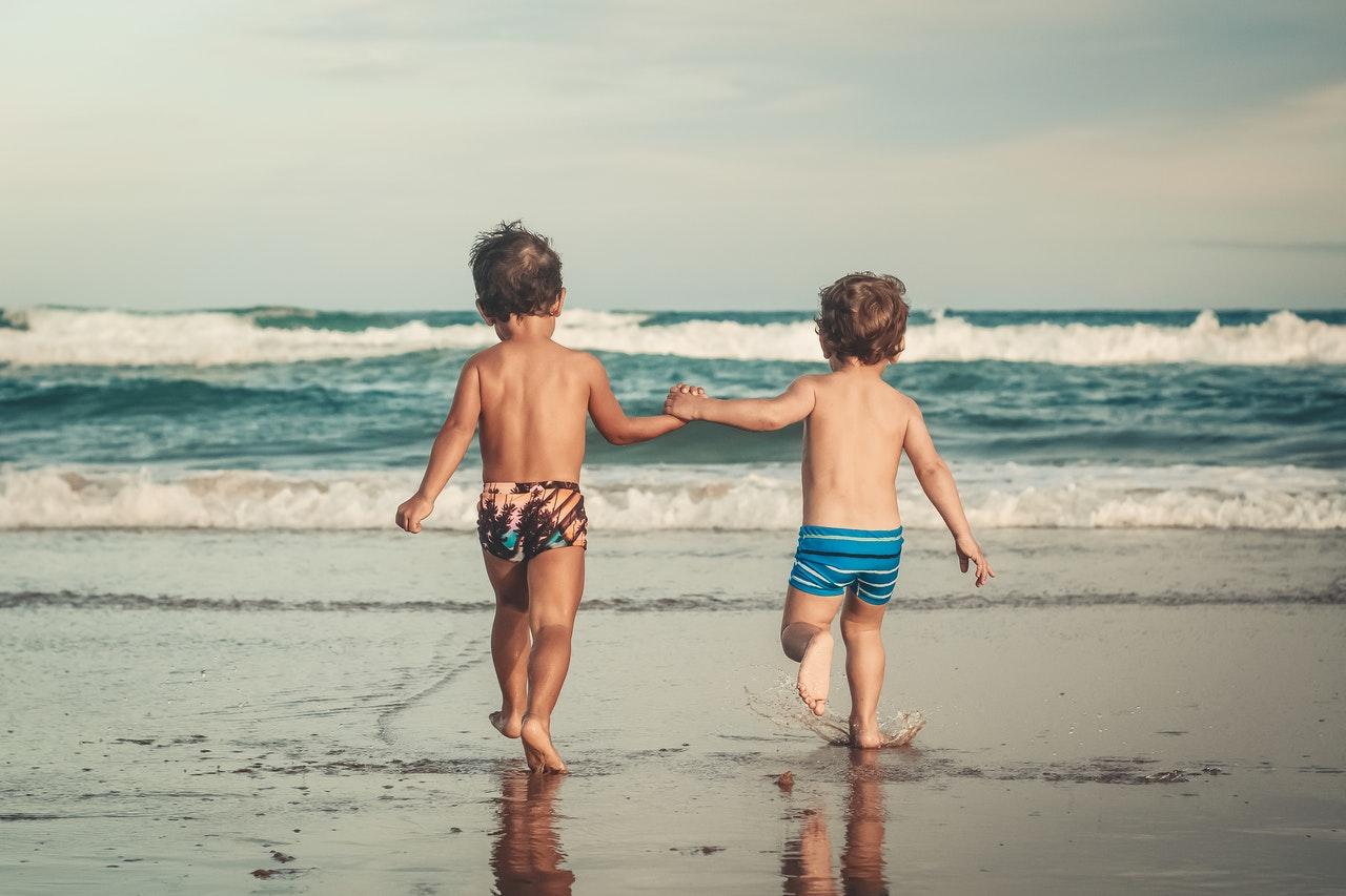 Kids Enjoying the Summer Beach | Kids Car Donations
