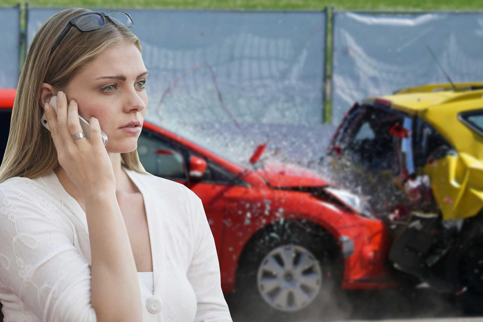 Woman Calling Car Insurance | Kids Car Donations